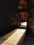 Afternon Sunlight Through Doorway on Interior of Tomb of Mohammed Shah  Lodhi Gardens  New Delhi