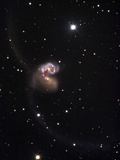 The Merging Galaxies NGC 4038 and 4039  Popularly Referred to as the Antennae Galaxies