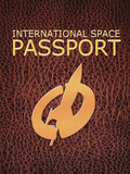 Conceptual Illustration of a Passport Needed for Future Space Tourism
