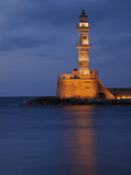 Lighhouse at Dusk  Chania  Crete  Greece