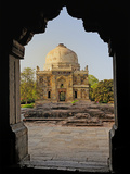 Mosque of Sheesh Gumbad  Lodhi Gardens  New Delhi  India
