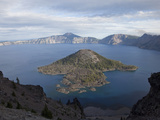 Crater Lake Is Caldera That Formed About 7700 Years Ago