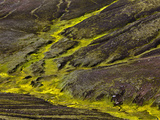 Colorful Erosion Pattern  Iceland