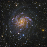 NGC 6946  Spiral Galaxy in Cepheus also known as the Fireworks Galaxy