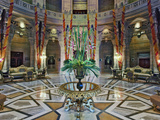 Interior Rotunda of Umaid Bhawan Palace Hotel  Jodjpur  India