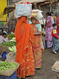 Colorful Fruit and Vegetable Market  Udaipur  India