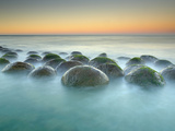 These Sandstone Concretions at Bowling Ball Beach Near Point Arena