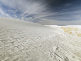 White Sands National Monument  Near Alamagordo Consists of White Gypsum (Selenite)