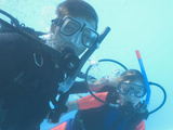 Instructor and Student of the Padi Seal Team Program in the Pool  Egypt