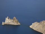 The Phantom Ship Andesite Outcrop Is the Oldest known Rock in the Crater Lake Caldera  Oregon  USA