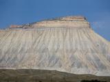 Mt Garfield And Cretaceous Rocks of The Book Cliffs  Colorado  USA
