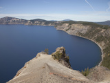 The Caldera Walls of Crater Lake Provide an Inside View of Mt Mazama