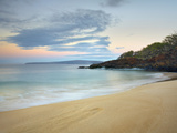 Just before Sunrise on Oneloa Beach  Maui  Hawaii  USA
