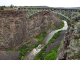 Two Us Highway 97 Bridges over the Crooked River Near Terrebonne
