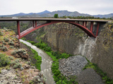 Us Highway 97 Bridge over the Crooked River Near Terrebonne the Bridge