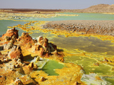 Dallol Geothermal Brine Hot Springs  Ethiopia