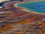 Grand Prismatic Pool  Yellowstone National Park  Wyoming  USA