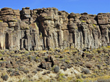 Rimrock in the Harney Basin  Southeast Oregon  USA