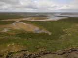 Tidal Flats Near Seal River  Hudson Bay  Canada