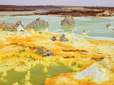 Dallol Geothermal Area with Brine Springs and Hot Springs  Ethiopia