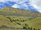 A Portion of the Abert Rim Which Is the Longest Exposed Fault Scarp in North American
