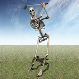 Skeleton Golfing