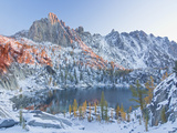 Early Winter Arrives at Lake Viviane in the Lower Enchantment Lakes Basin