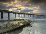 The Scripps Pier in La Jolla  California  USA