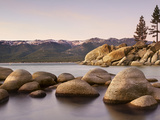 Granite Rocks  Sand Harbor State Park  Lake Tahoe  Nevada  USA