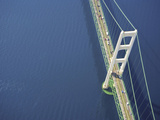 Mackinac Bridge  Michigan  USA
