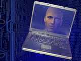 Man in Cyberspace