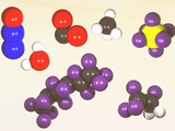 Molecular Models of the Major Greenhouse Gases