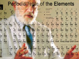 Scientist Behind a Periodic Table of the Elements