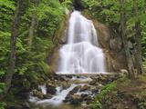 Waterfall  Green Mountains  Vermont  USA