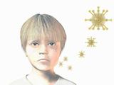 Artist's Concept of a Paramyxovirus That Causes Mumps
