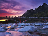 Stone Bridge at Dawn  Seoraksan National Park  South Korea