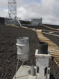Precipitation Gauges at the Mauna Loa Observatory in Hawaii