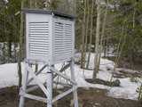 A Weather Instrument Shelter in the Niwot Ridge Long-Term Ecological Research Site in Colorado