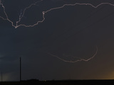 Intercloud Lightning During a Thunderstorm in Western Nebraska