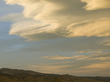 Lenticular Clouds at Sunset over the Colorado Front Range Prior to a High Wind Event