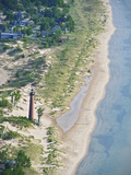 Lighthouse at Little Sable Point  Michigan  USA