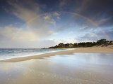 Rainbow  Carmel State Beach  California  USA