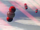 Carbon Dioxide Molecules Absorb Infrared Radiation