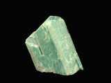 Microcline Variety Amazonite  Lake George  Colorado  USA  Specimen Courtesy JMU Mineral Museum