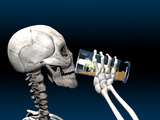 Skeleton Drinking