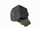 Galena Crystal  an Ore of Lead  Viburnum  Missouri  USA  Specimen Courtesy Jmu Mineral Museum