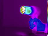 Thermogram of a Hair Dryer