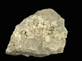 Strontianite and Calcite  Pennsylvania  Specimen Courtesy Jmu Mineral Museum