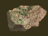 Uvarovite Garnet  Savany  Ural Mountains Russia  Specimen Courtesy Jmu Mineral Museum