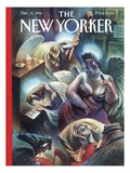 The New Yorker Cover - December 11  1995